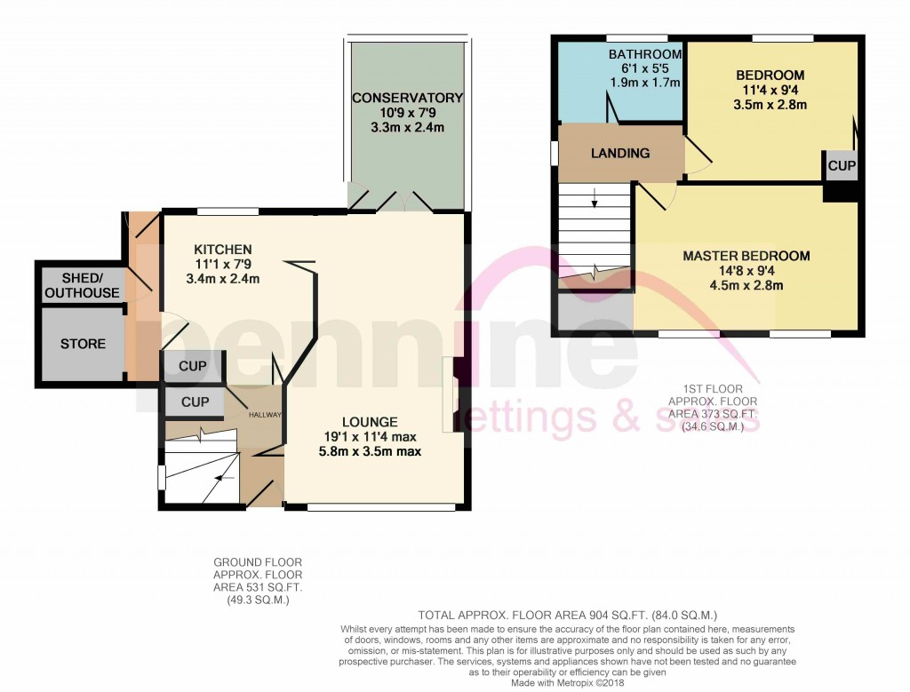 Floorplans For Lindhurst Road, Athersley North